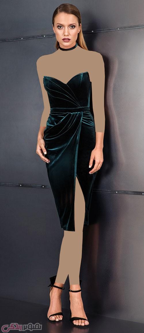 مدل لباس شب مخمل 2017 مدل لباس مجلسی مخمل cristallini • مدل لباس شب جدید امسال ...
