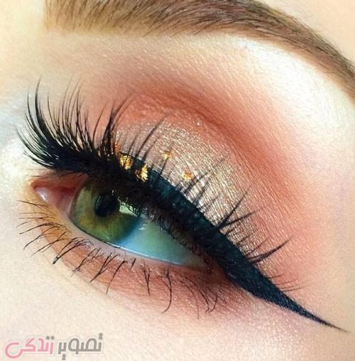 جدیدترین مدل خط چشم , آرایش چشم دخترانه