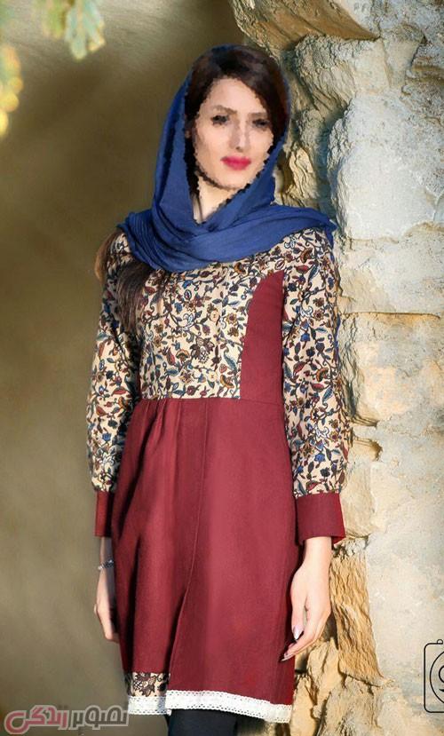 مدل مانتو سنتی ایرانی جلو بسته