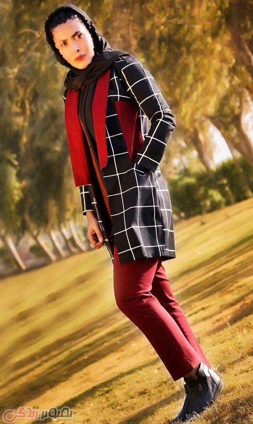 مدل مانتو پاییزه جدید , مدل مانتو کتی , مانتو کوتاه دخترانه