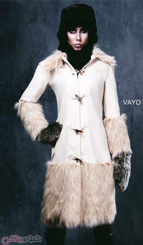 مدل پالتو زنانه سفید , مدل مانتو زمستانی زنانه
