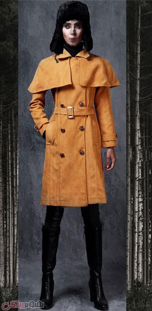 مانتو بارانی زنانه, مدل مانتو زمستانی زنانه