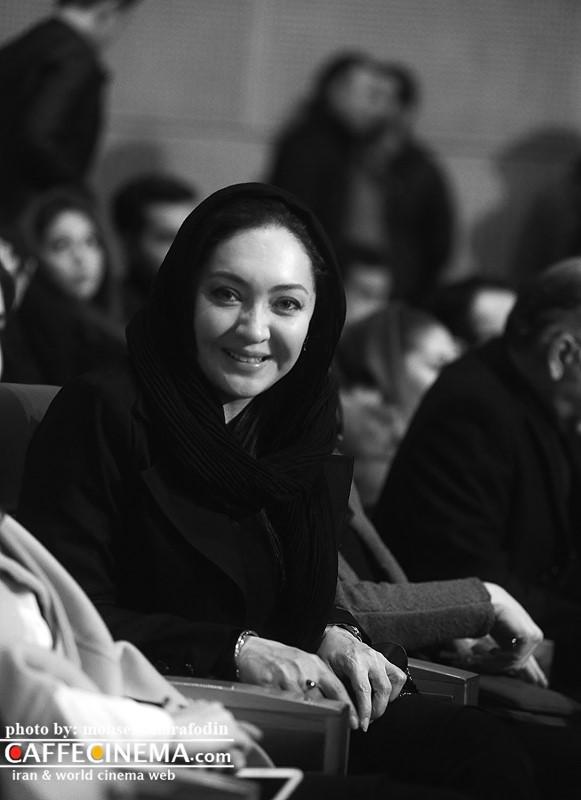 عکس نیکی کریمی در افتتاحیه سی و پنجمین جشنواره فیلم فجر 95