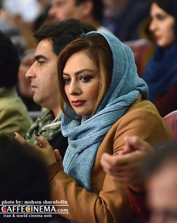 عکس یکتا ناصر در افتتاحیه سی و پنجمین جشنواره فیلم فجر 95