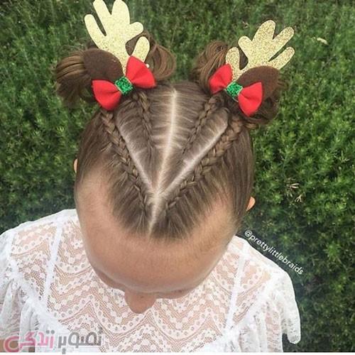 مدل موی ویژه کریسمس
