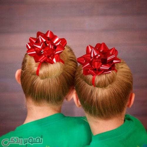 مدل موی دخترانه برای کریسمس