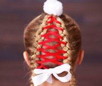 عکس مدل موی دخترانه برای کریسمس