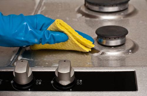 روش تمیز کردن اجاق گاز چرب