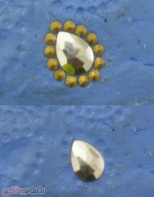 آموزش ساخت پروانه کریستالی , تاج ژله ای