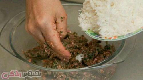 طرز تهیه شامی برنج ,کتلت برنج