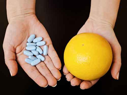 تداخل دارو با غذا : تداخل لیموترش و داروی سرفه