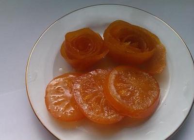 طرز تهیه مربای پرتقال حلقه ای