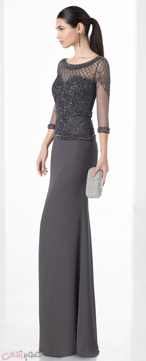 مدل لباس مجلسی 2017 گیپور