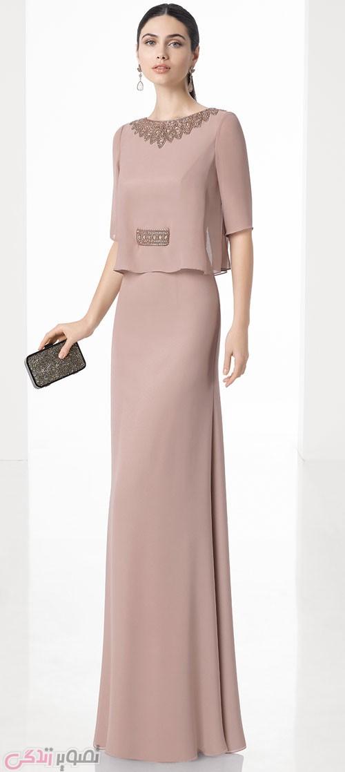 مدل لباس مجلسی 2017 بلند شیک