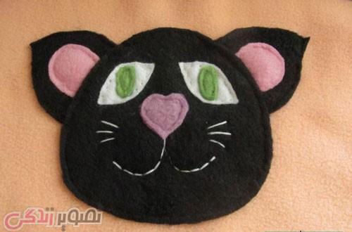 آموزش دوخت کیسه خواب فانتزی طرح گربه