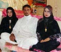 شب زفاف مرد عراقی با دو زن