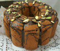 طرز تهیه کیک گردو و پسته