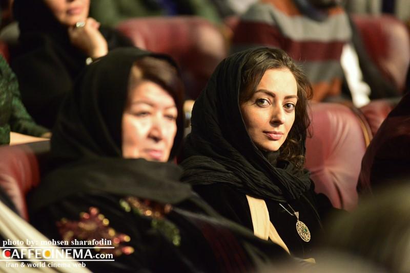 عکس نفیسه روشن در افتتاحیه سی و پنجمین جشنواره فیلم فجر