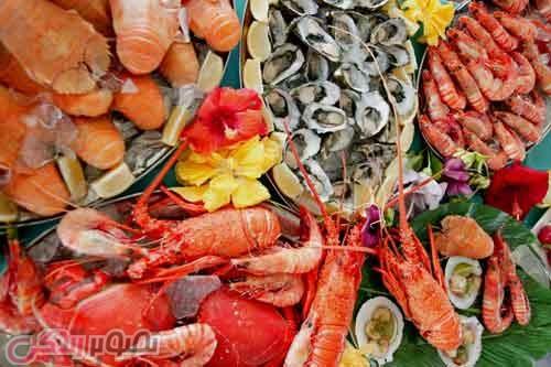 افزایش بی میلی جنسی و شهوت با مواد غذایی دریایی