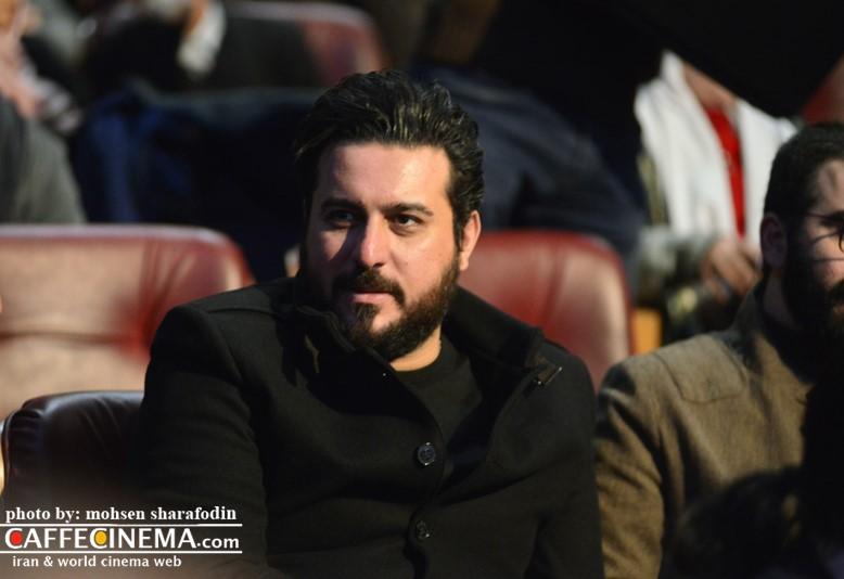عکس محسن کیایی در افتتاحیه سی و پنجمین جشنواره فیلم فجر