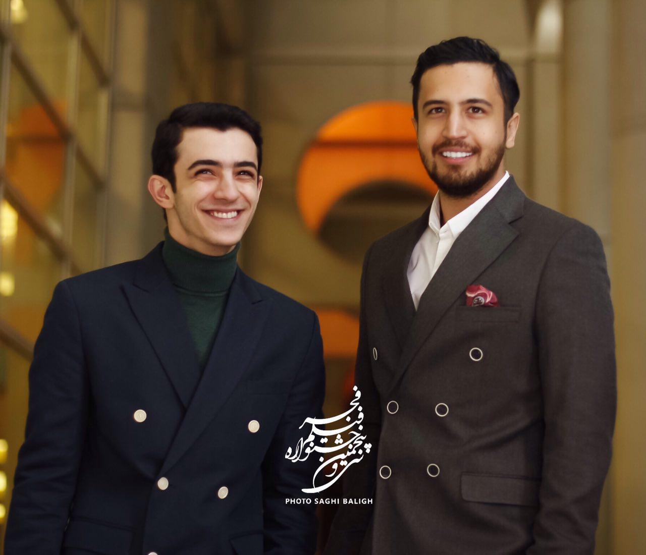 عکس مهرداد صدیقیان و علی شادمان
