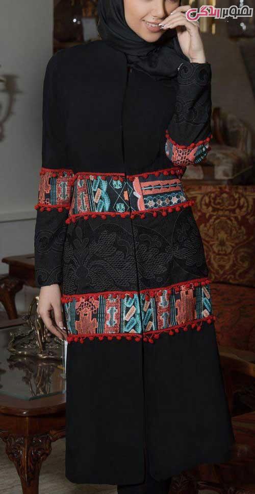مدل مانتو عید سنتی مجلسی