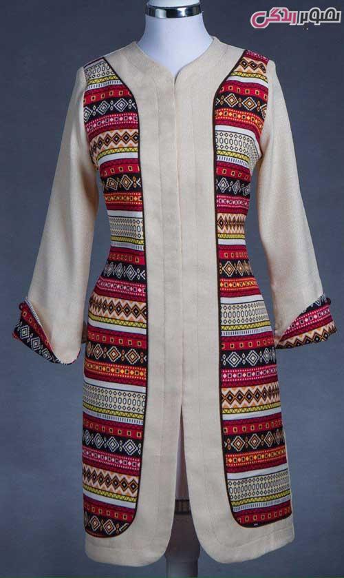مدل مانتو عید 96 سنتی