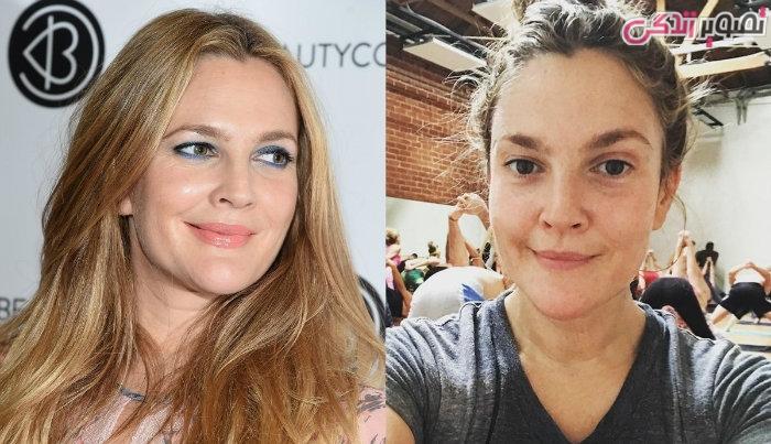 عکس زنان بدون آرایش - عکس بدون آرایش درو باریمور