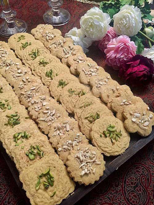 طرز تهیه سابله بادام شیرینی عید