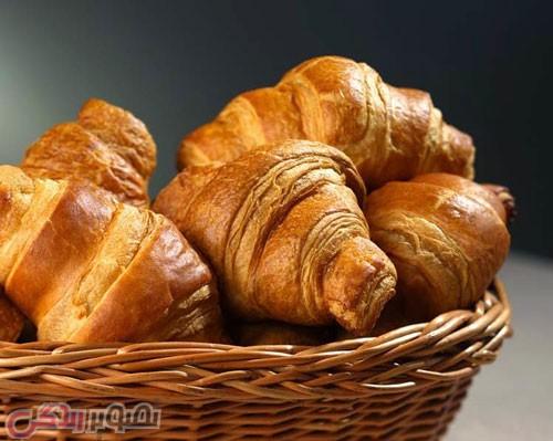 طرز تهیه نان کروسان