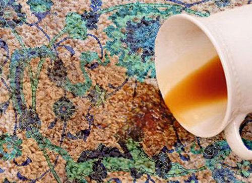 روش تمیز کردن لکه فرش در منزل