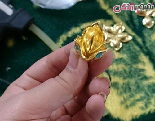 آموزش ساخت گل کیستالی