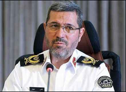 سردار تقی مهری رئیس پلیس راهور
