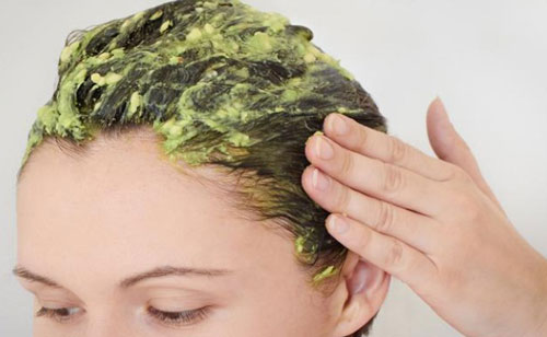 صاف کردن مو با مواد طبیعی , ماسک آووکادو