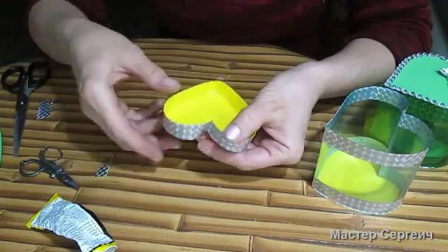 آموزش ساخت جعبه هدیه روز ولنتاین