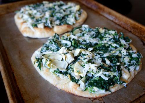 طرز تهیه مینی پیتزای اسفناج
