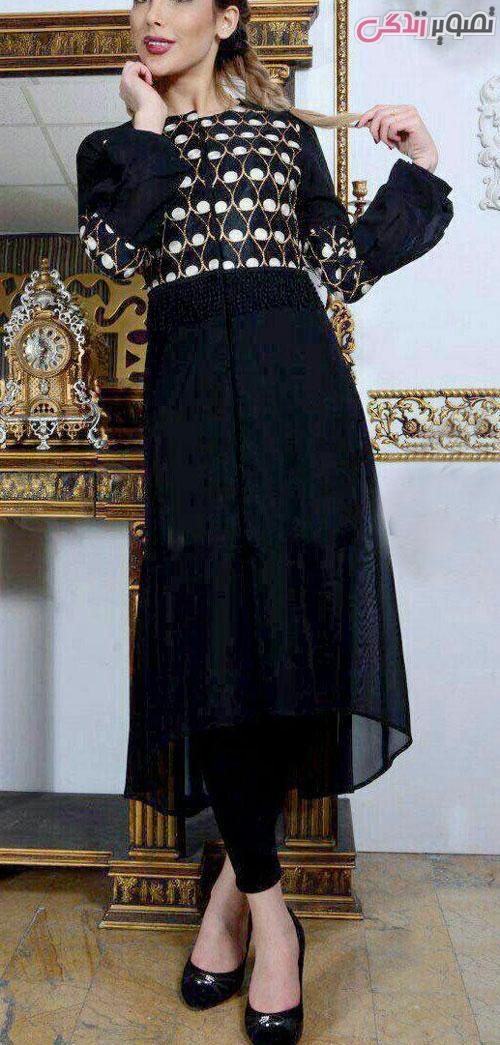 مدل مانتو مجلسی عید