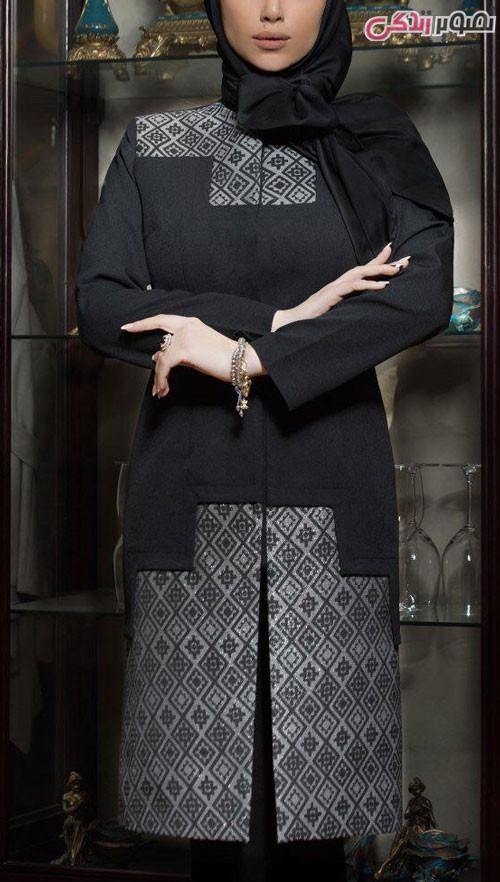 مدل مانتو رسمی عید
