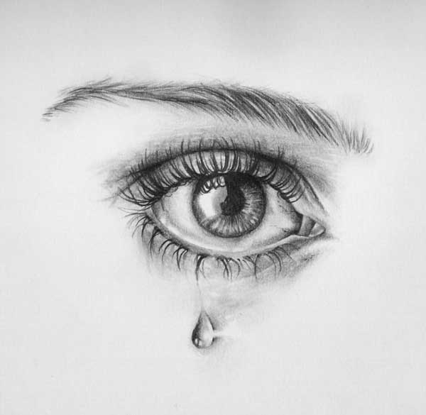 عکس پروفایل چشم گریان