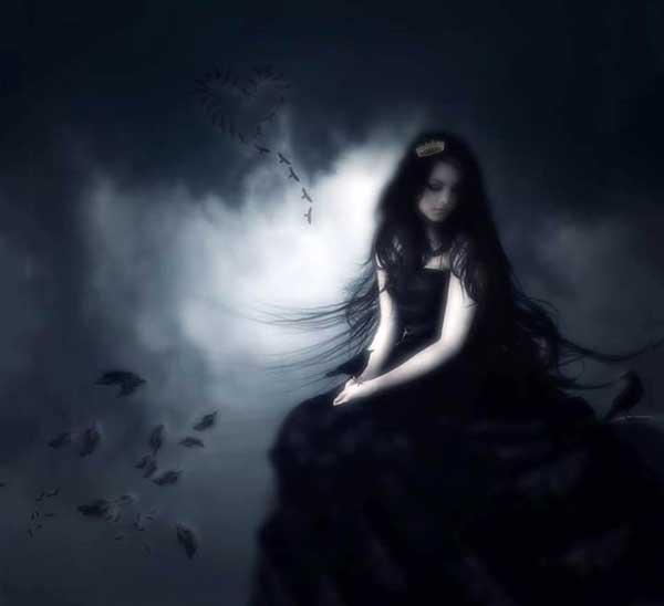 عکس پروفایل دخترانه غمگین تنهایی