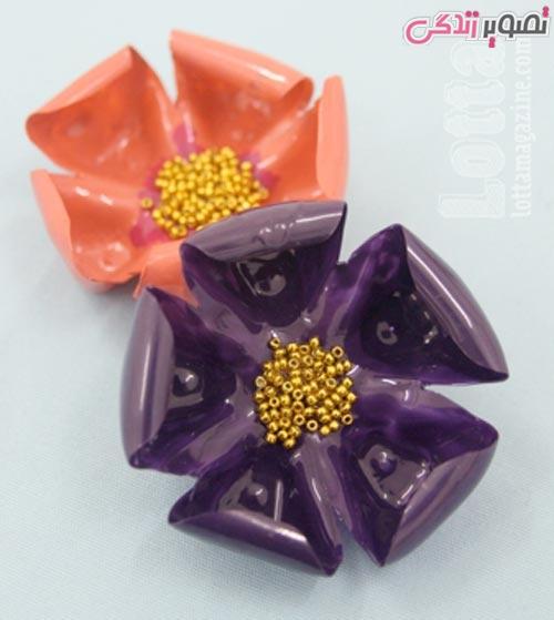 آموزش ساخت ظروف هفت سین آموزش ساخت ظروف هفت سین با بطری نوشابه به شکل گل زیبای ...