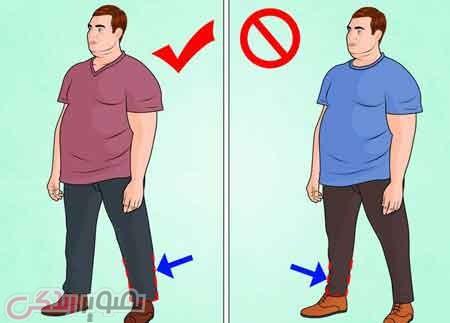 افراد چاق چگونه خوش پوش باشید؟