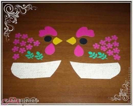آموزش هنرهای دستی  , آموزش ساخت جعبه هدیه خروس برای عیدی سال 96 سال خروس