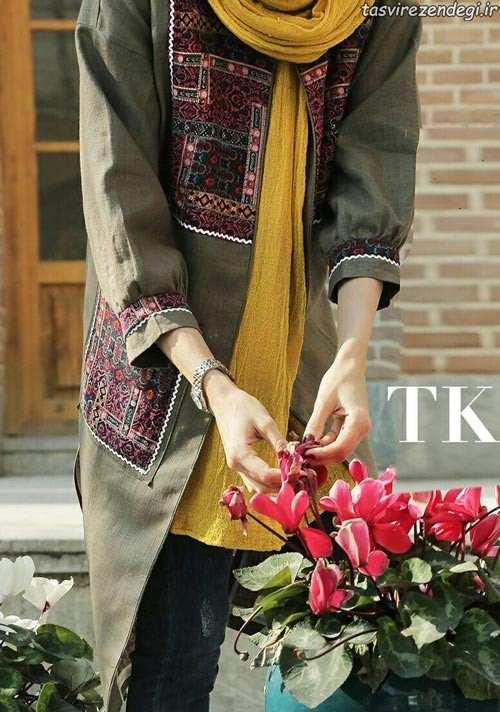 مدل مانتو سنتی بهاری و ایرانی