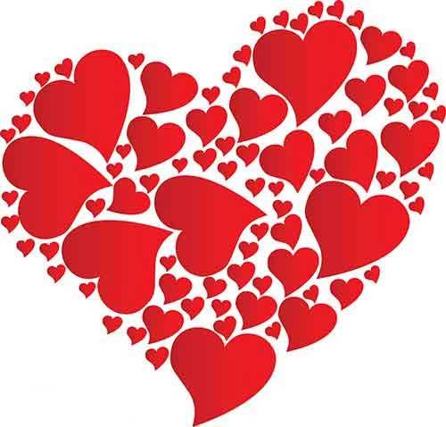 قلب ولنتاین - اس ام اس سرکاری ولنتاین