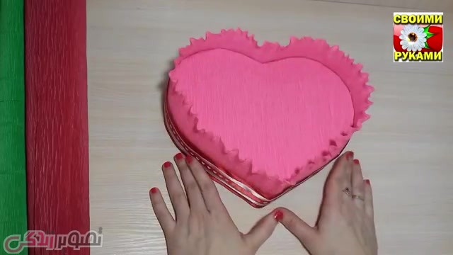 درست کردن کادو برای روز ولنتاین