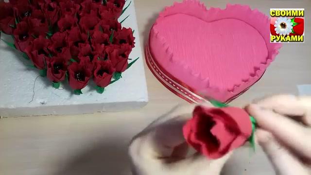 آموزش ساخت کادو روز ولنتاین