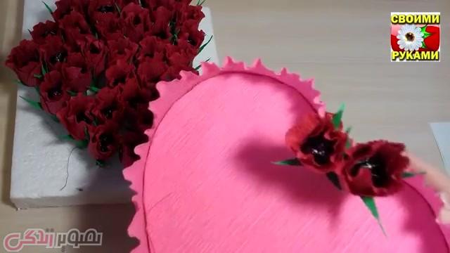 آموزش ساخت هدیه برای روز ولنتاین