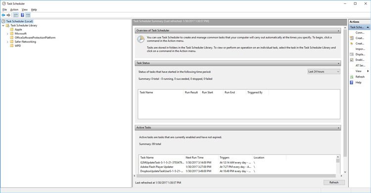کنترل پنل ویندوز 10 برای جلوگیری از ریستارت خودکار رایانه بعد از بروزرسانی ویندوز 10