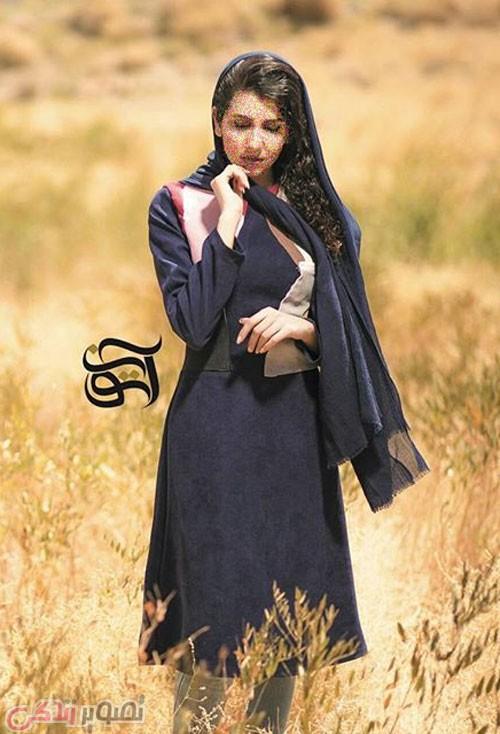 سایر مدل های مانتو  , مدل مانتو عید 96 جلو بسته دخترانه و شیک مجلسی برند آتون